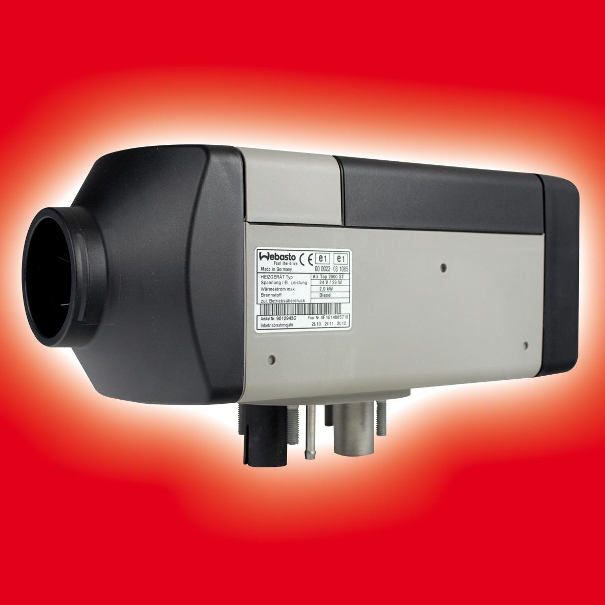 webasto airtop 2000 st 24v heater diesel air heating block. Black Bedroom Furniture Sets. Home Design Ideas