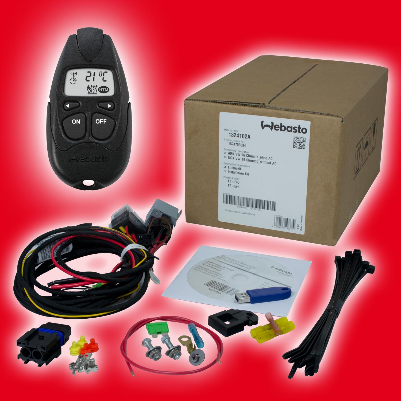 upgrade kit vw t6 webasto remote control telestart t100. Black Bedroom Furniture Sets. Home Design Ideas