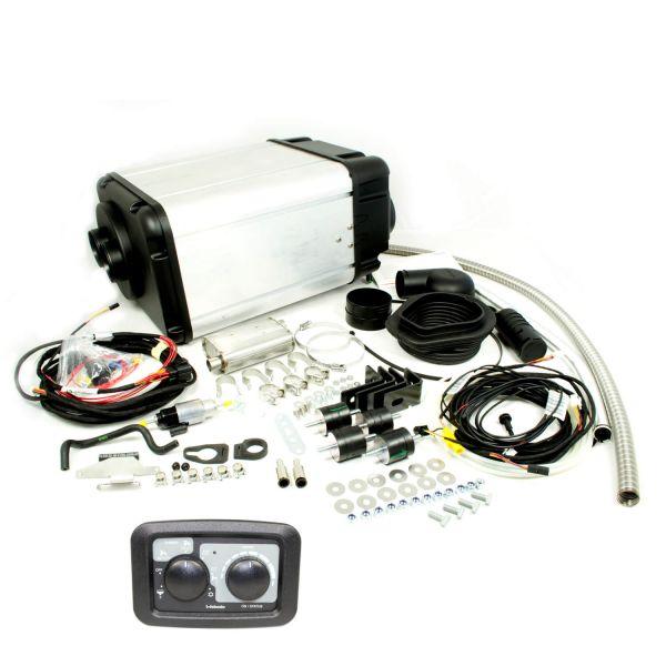 Standheizung Wohnmobil Dual Top Evo 6 Diesel 12V/6kW Einbausatz manuellem Bedienelement