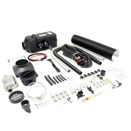 Standheizung Airtronic D4 Diesel 12V/4kW inkl. Einbausatz D=90mm