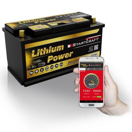 Lithium Power Batterie LIT100 Antrieb/Versorgung/Solar