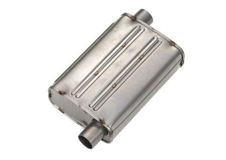 Abgasschalldämpfer mit verbesserter Schalldämpfung