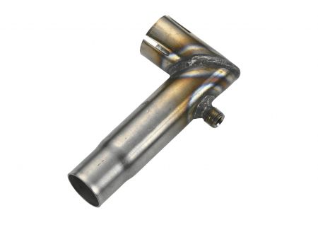 Abgaskrümmer D 24mm mit Kondensatablauf