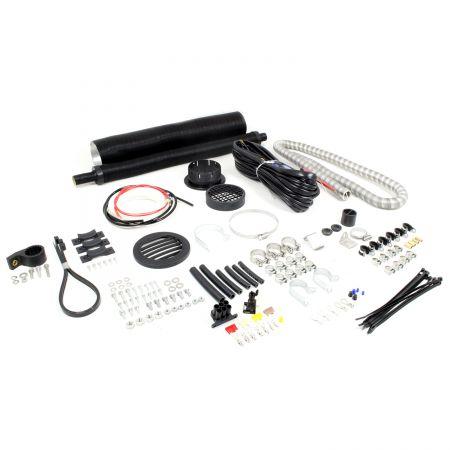 Standard Einbausatz Airtronic D5 12/24V D=90mm