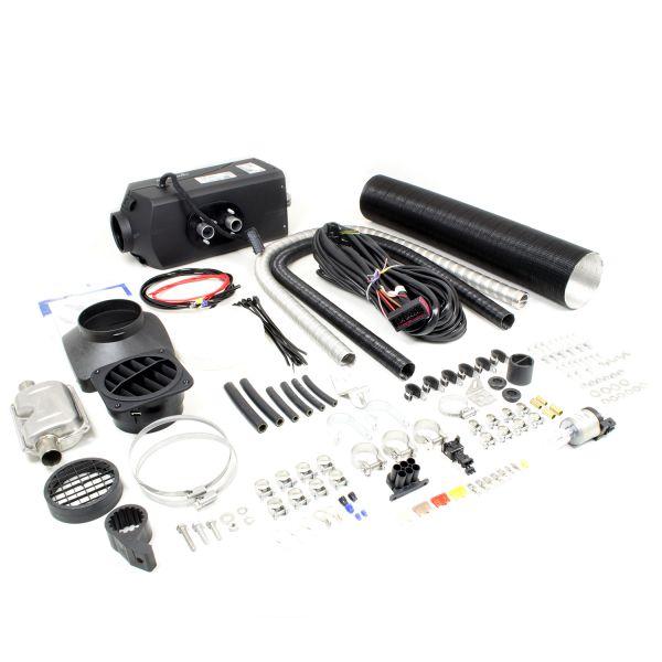 Standheizung Airtronic D4 Plus Diesel 12V/4kW inkl. Einbausatz D=90mm